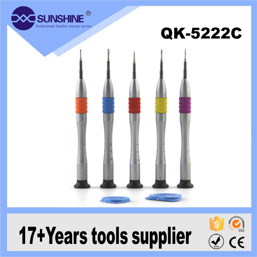 5 pieces precision Torx Screwdrivers Pry Repair Tools Kit Set For cellphone smartphone computer