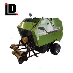 Factory Exporting Agricultural Drive Mini Round Hay Baler