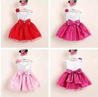 New Model Girl Dress 2015 Princess Children's Clothing And Party Dress For Girls 4 Years