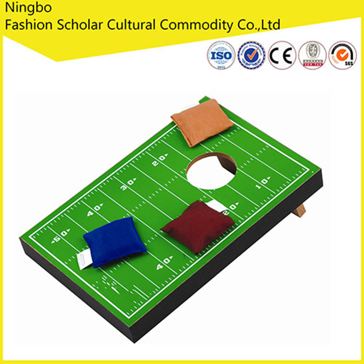 high quality mini cornhole game and table top game and cheaper toss board game mini bean bag toss