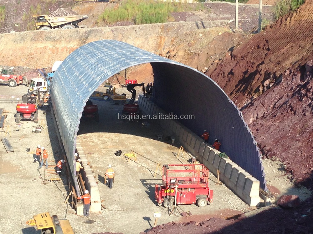 Pipe Culvert Lining : Corrugated steel pipe culvert galvanized