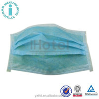 High Quality Disposable Face Mask with Earloop 3Ply Non Woven