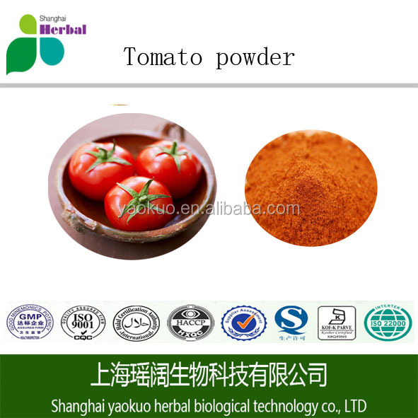 Anti-aging healthy fruit extract bulk tomato extract powder