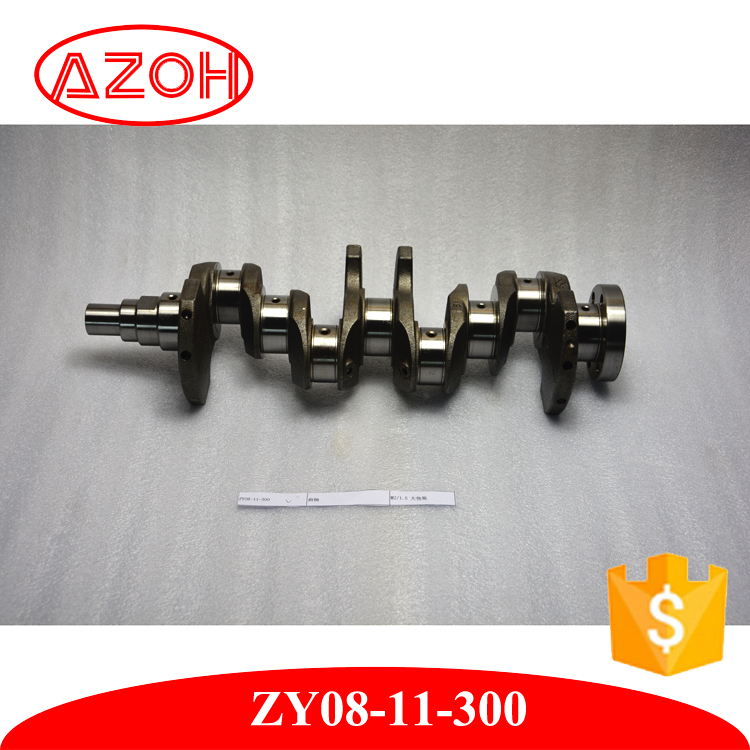 Motor Petrol Engine spare parts engine crankshaft for mazda 2 1.5L OEM ZY08-11-300