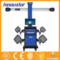 Automatic 3d wheel alignment 3d wheel aligner john bean IT660 with CE