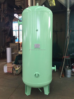 ASME Approved 1000 liter carbon steel pressure vessel air compressor tank / air receiver tank with 10Bar