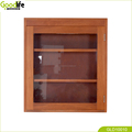 Solid mahogany wood wall mounted bathroom cabinet storage cabinet from China supplier