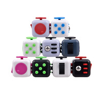 Free Sample Desk Toy 6 Sided Fidget Cube Spinner Fidget Toy for Anti Stress