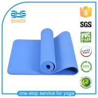 8mm Thick Exercise Fitness Non-Slip Yoga Mat Lose Weight Meditation Pad