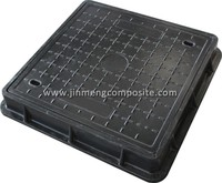sheet moulding compound frp meter box recessed manhole cover and frame made in China