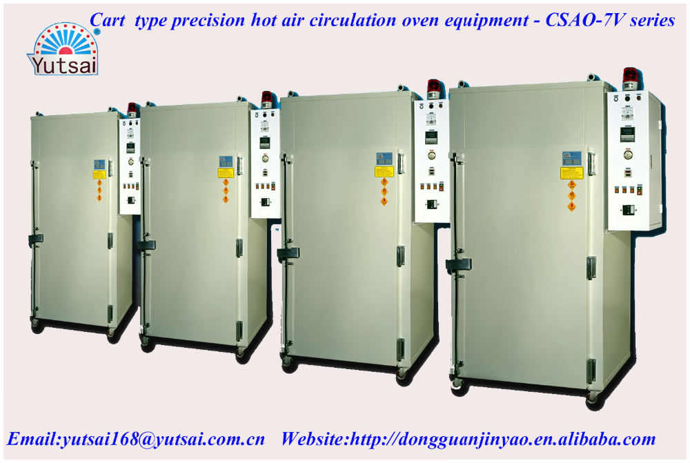 Precision car type hot air circulate drying Oven for baking capacity of sudden wave absorption coating