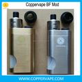 Most popular coppervape squonk box mod 10ml brass squonk mod bf rda wholesale cheap