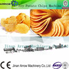 Automatic mixing extruding shaping potato chips machines