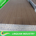 Wood surface aluminium honeycomb panel for decorative uses