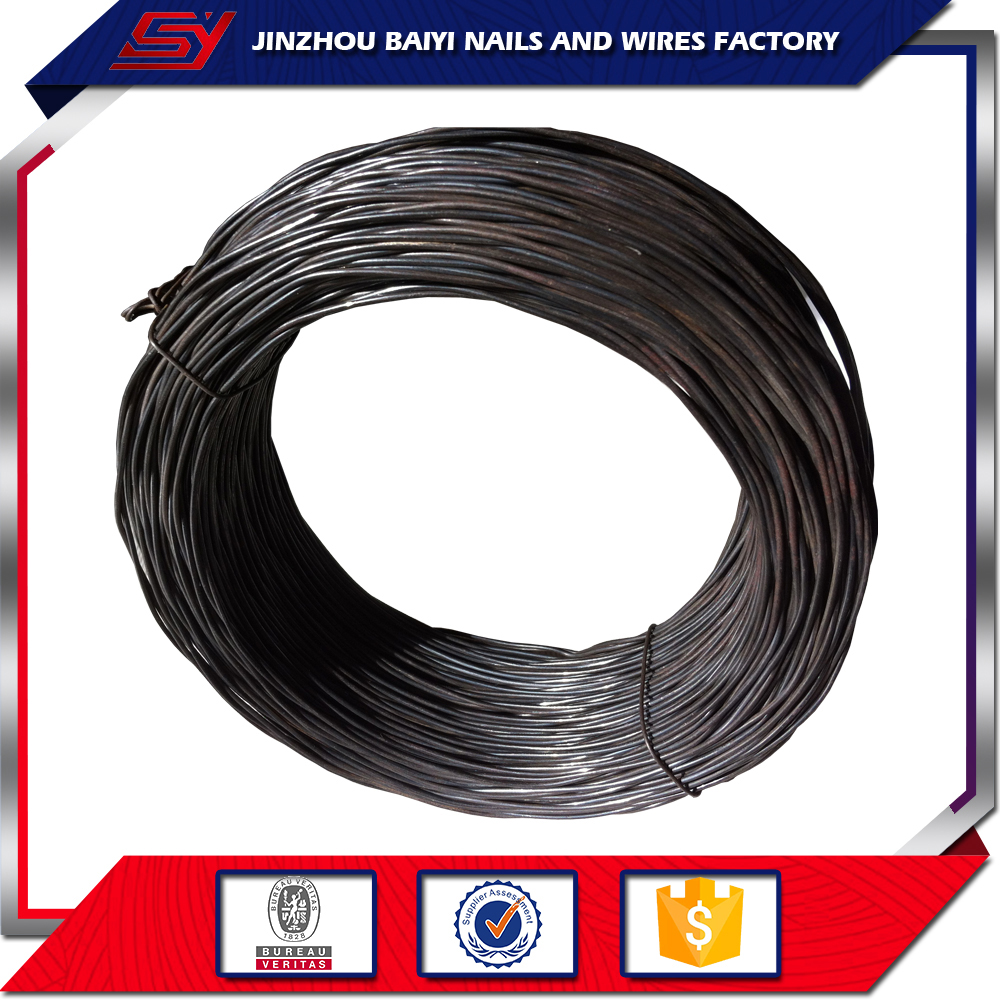 16 Gauge Black Annealed Tie Binding Iron Wire