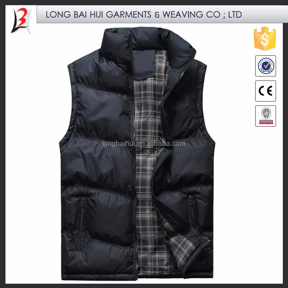 High Strength Factory Supply Warm vest with multi pocket