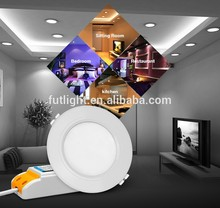 12W smart lighting wifi controlled wireless led ceiling down light color changing rgb rgbw 12 watt milight led downlight