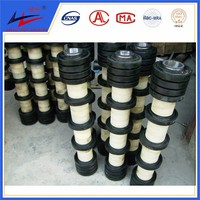 Return Conveyor Sleeve Roller With Rubber Ring