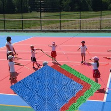 Practical High Technology interlocking pp volleyball flooring