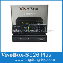 vivobox s926 plus new shell small hd iks/sks satelite decoders nagra 3 better than azclass s1000