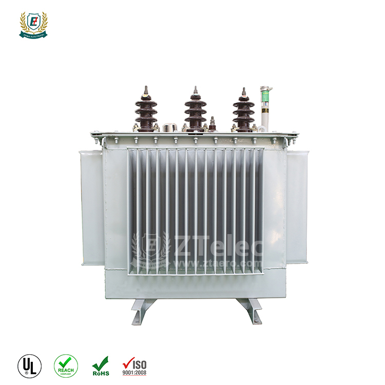 High voltage oil immersed distribution power transformer with better price