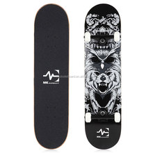 2017 new Double Kick Tail 100 Canadian Maple wood Skateboards complete