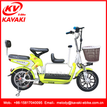 Fat Tire Electric Bike Kit KAVAKI Three Seat Two Wheel Electric Bicycle in Bangladesh