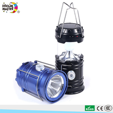 Foldable Waterproof Portable High Brightness LED Solar Light Camping Lantern