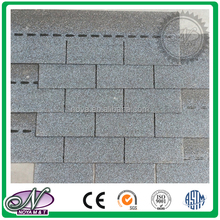 Standard single layer decorative laminated asphalt roofing tiles price with high quality