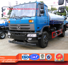 Dongfeng 145 wast water suction truck, 8000liters vacuum fecal truck for sale