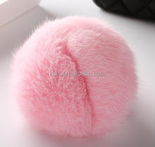 CR-A-56 WHOLESALE POMPOM BALL REX RABBIT FUR BALL