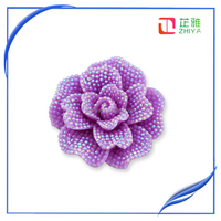 Plain Sunflower Resin Flat Back Setting For Pendant Resin Cabochon Dome