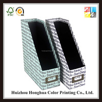 Fashion custom handmade paper folder designs paper stand file and folders