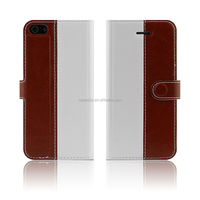 Leather Case with Stand for iPhone 5