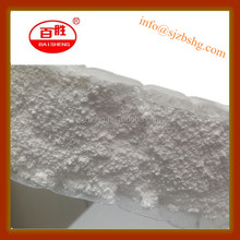 zinc oxide for desulfurization catalyst and sulfur absorbent use