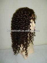 Custom made thin skin PU injection wig