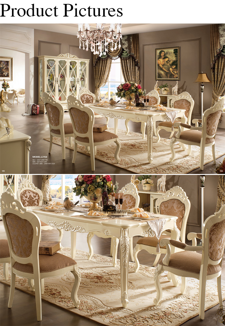 American Style Classical Solid Wood Used Dining Table And ...
