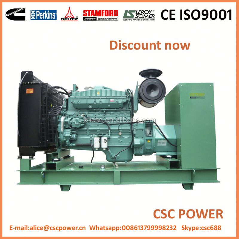 75Kva generator exhaust silencer weifang engine with ISO CE