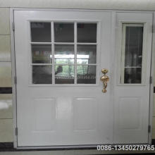 exterior doors typical 9 lite steel door