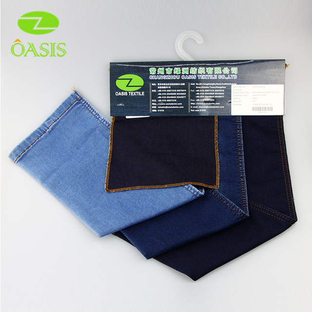 Brand new cotton stretch knitted denim made in China wholesale
