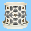 Cheap Beautiful White Ceramic Pot For Plants