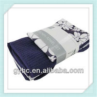 wholesale china pure color or printed microfiber kitchen towel with belt