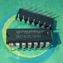 - into SN74HC164N DIP - 14 and 8 bit string into the shift register new--FZYH2