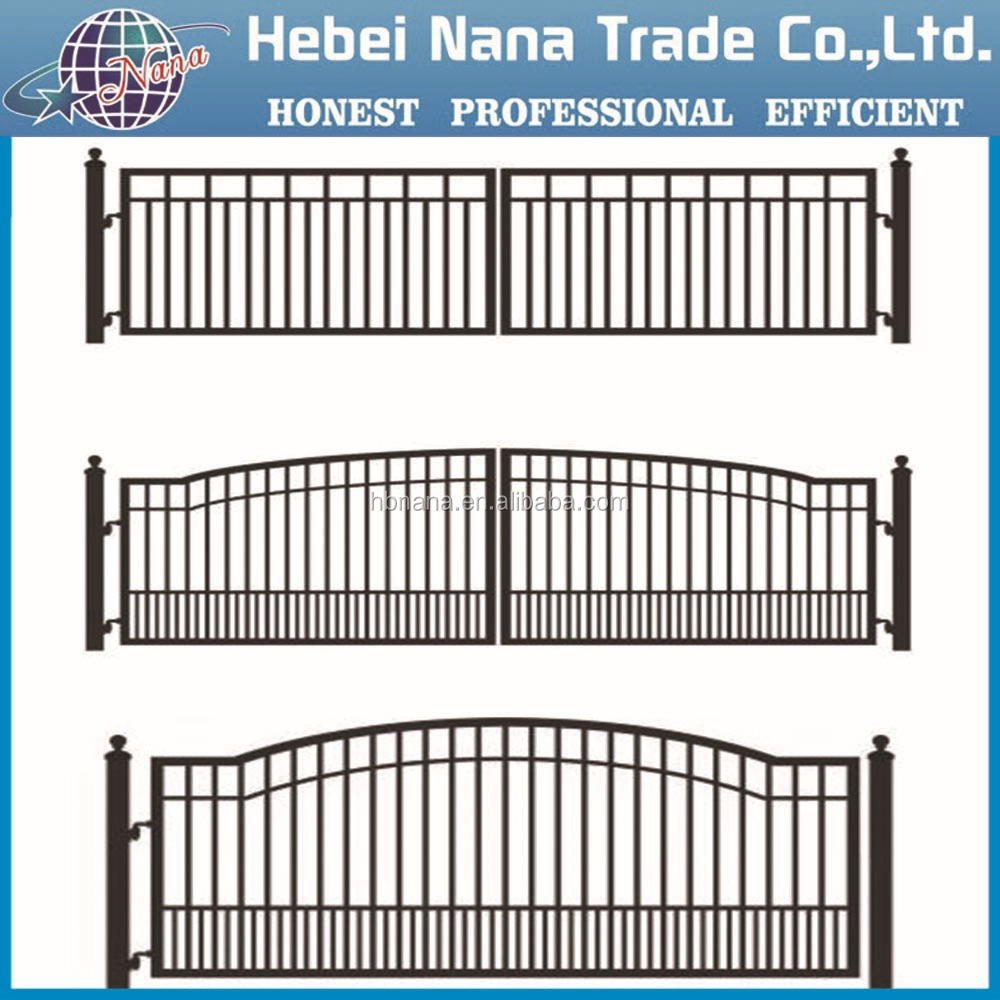 High quality decorative aluminum fence gates and