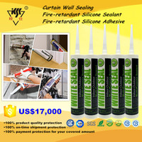 Curtain Wall Sealing/Fire-retardant Silicone Sealant/Fire-retardant Silicone Adhesive
