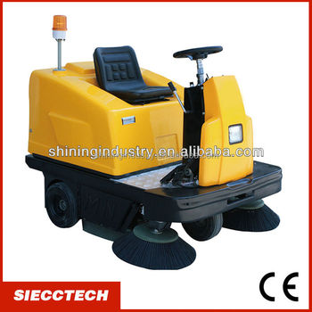 driving type road sweeper street sweeper garage sweeper