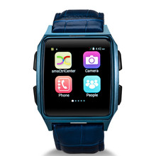 X2 andriod os bluetooth leather cheapest new smartwatch android watch phone with gps wifi 3g waterproof ip67 gd19 smart watch
