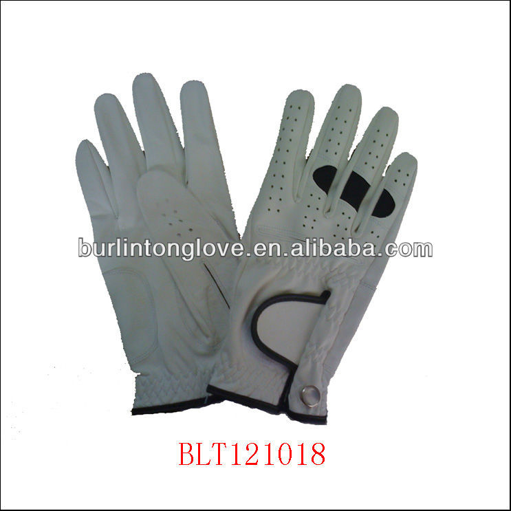 Premium Leather and PU Woman Golf Glove