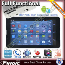 7 inch mtk6577 dual core android 4.2 jelly bean phone tablet