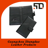Manufacture New Product Good Leather PU PP Business Card Holder